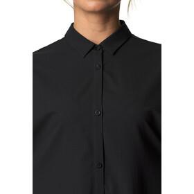 Houdini Route Shirt Vestido Mujer, negro